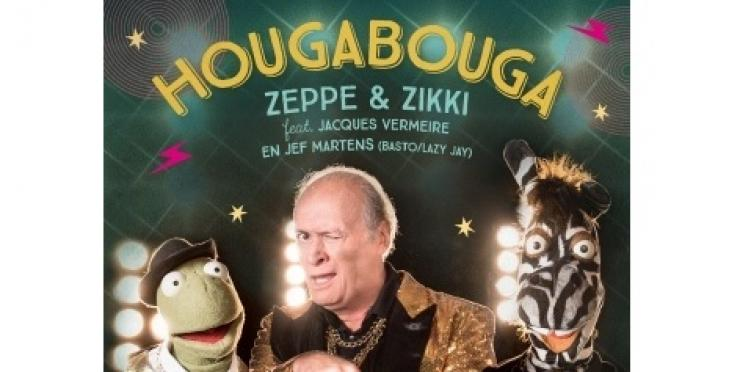 Video: Jacques Vermeire zingt nieuwe Zeppe & Zikki song 'Hougabouga'